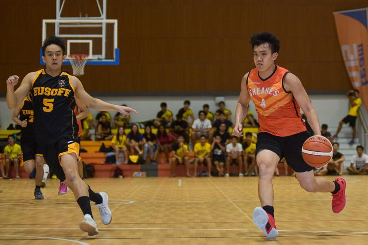 Chan Chun Cheong (SH #4) on the fast break. (Photo 19 © Iman Hashim/Red Sports)
