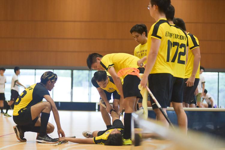 Cramps and injuries aplenty. (Photo 20 © Iman Hashim/Red Sports)