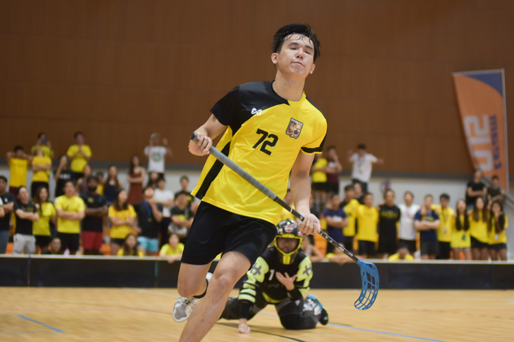 Edwin Ng (EH #72) reacts after failing to convert his penalty. (Photo 27 © Iman Hashim/Red Sports)
