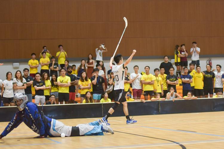 Tay Yang (TH #10) celebrates. (Photo 29 © Iman Hashim/Red Sports)