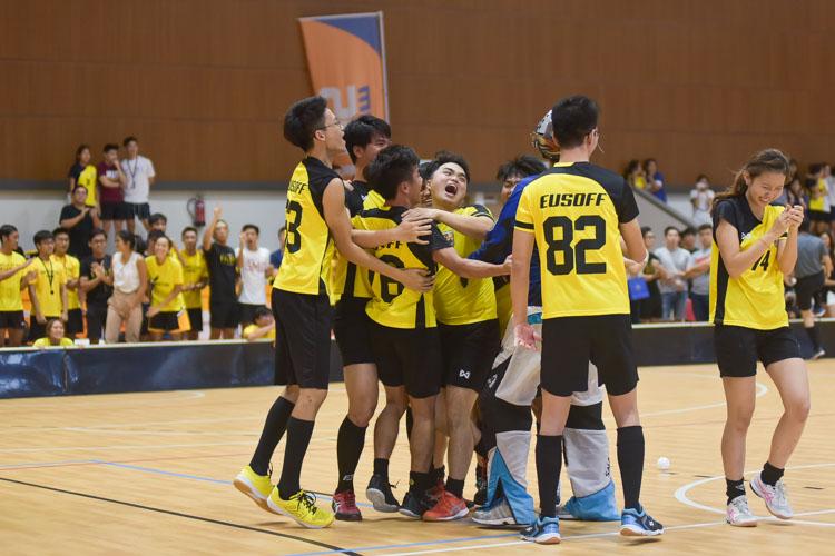 The Eusoff team celebrates. (Photo 33 © Iman Hashim/Red Sports)