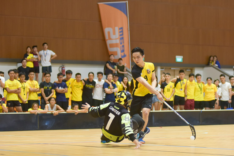 Joshua Chin (EH #19) takes his second penalty in the shootout in sudden death… (Photo 37 © Iman Hashim/Red Sports)