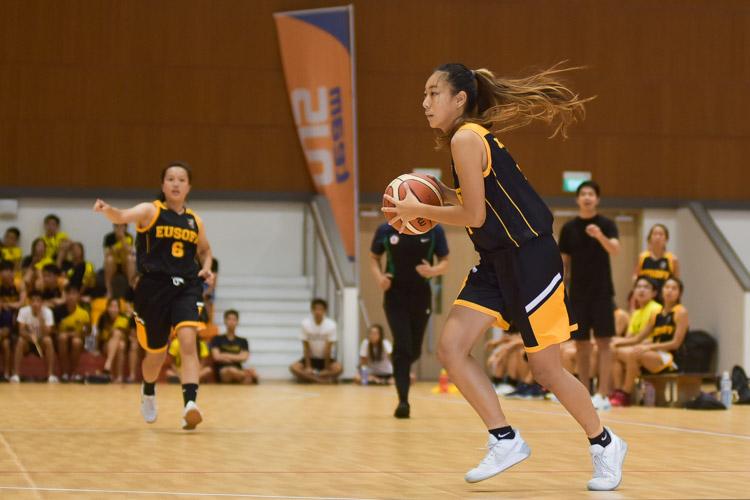 Joey Lam (EH #4) mulls her next move. (Photo 9 © Iman Hashim/Red Sports)