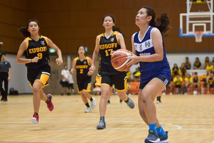 Nicole Chong (KR #10) takes aim. (Photo 24 © Iman Hashim/Red Sports)