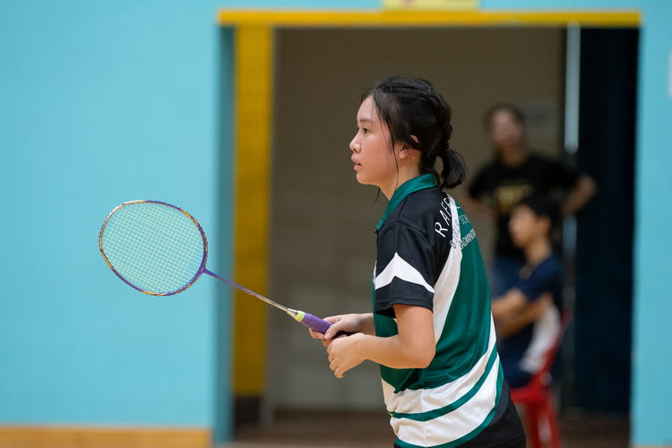Cleonice Lim Shu Hui of Raffles Girls defeated Fairfield Methodist star player Nitya Ramasamy. She came close to losing the tiebreaker set, winning by the skin of her teeth with a score of 21-19.