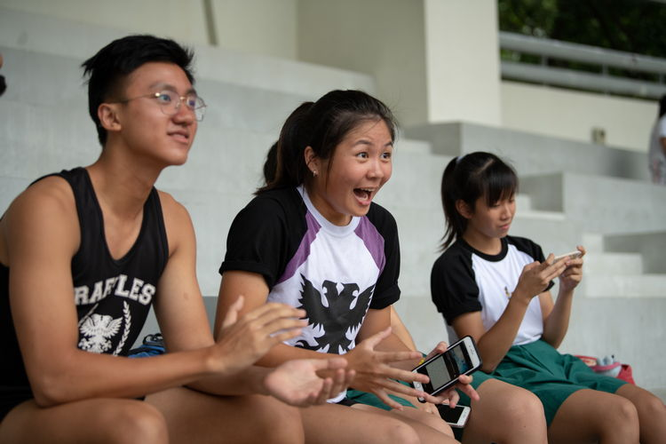 raffles institution spectators