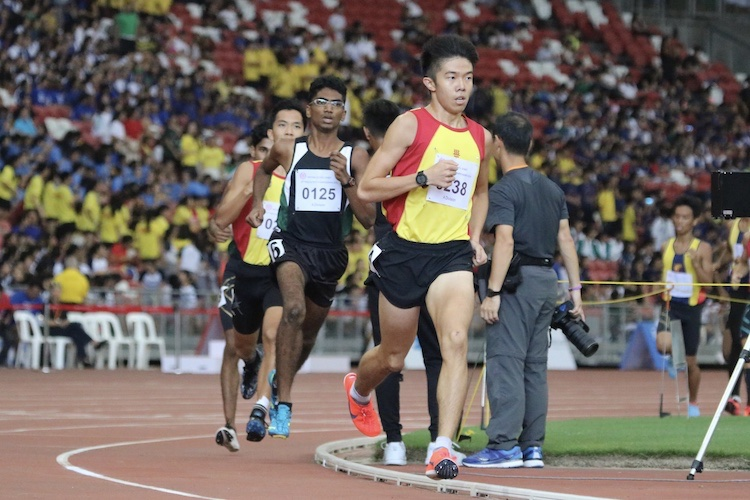 Ethan Yikai Yan of Hwa Chong Institution took home the bronze medal with a timing of 4:10.45.