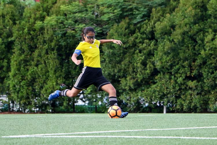 VJC head to National Schools A Division Girls' Football Championship final after penalty shoot-out against HCI. (Photo 13 © Clara Lau/REDintern)