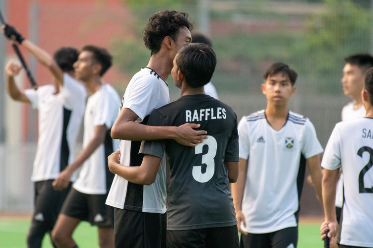 Sportsmanship goes beyond the boundaries of 'teams'; friendship and respect transcend scorelines.