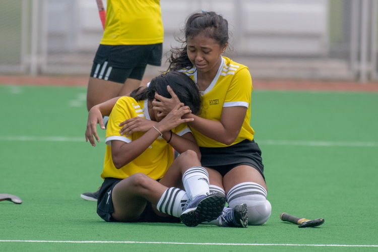 Sixteen-time champions VJC were understandably upset at the loss on Friday.