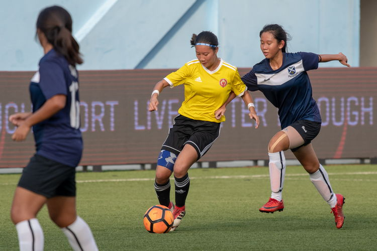 VJC defeated SAJC 3-0 to retain their title as A Division Football Girls champions.