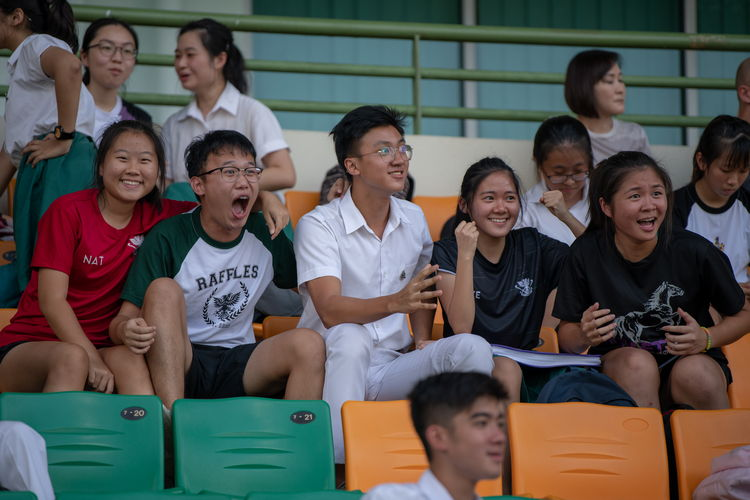 The game drew mixed reactions from the Raffles supporters.