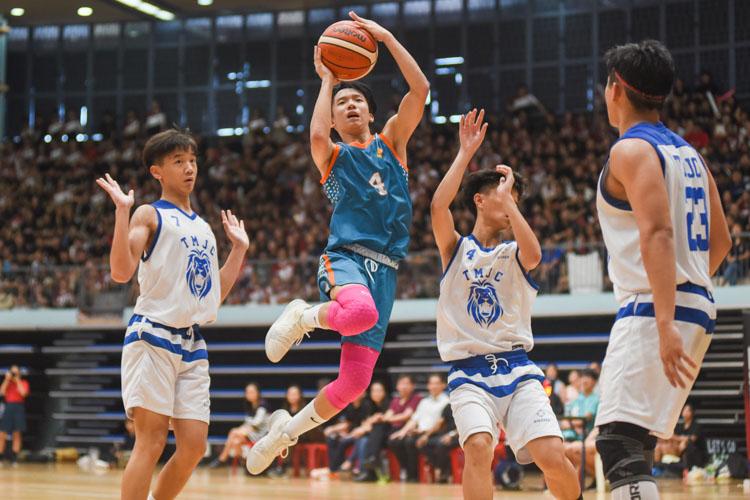 Louis Ho (ASRJC #4) takes aim. (Photo 1 © Iman Hashim/Red Sports)