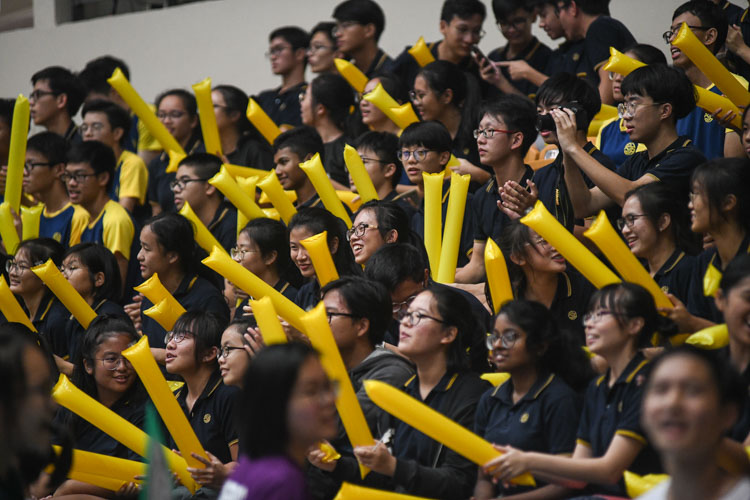 The Eunoia crowd. (Photo 11 © Iman Hashim/Red Sports)