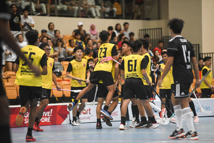VJC pull another goal back via Amir Hamdan (#25). (Photo 1 © Iman Hashim/Red Sports)