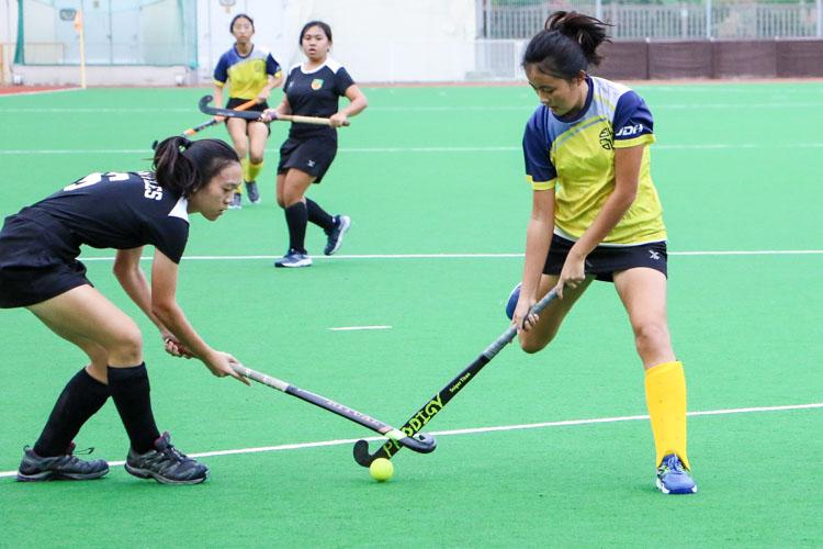 EJC blaze past RI in National Schools A Division Girls' Hockey semi-finals fixture. (Photo 6 © Clara Lau/REDintern)