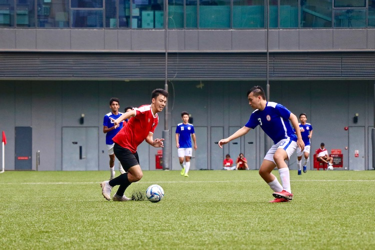 NYJC claimed third place in 5-2 win over TMJC in the A Division Football 3rd Playoff. (Photo 11 © Jessica Soo/Red Sports)