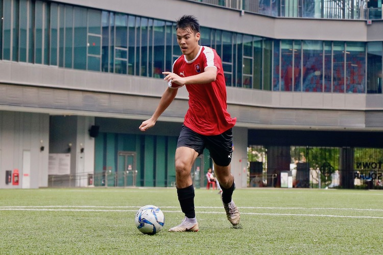 NYJC claimed third place in 5-2 win over TMJC in the A Division Football 3rd Playoff. (Photo 9 © Julianna Jothi/Red Sports)