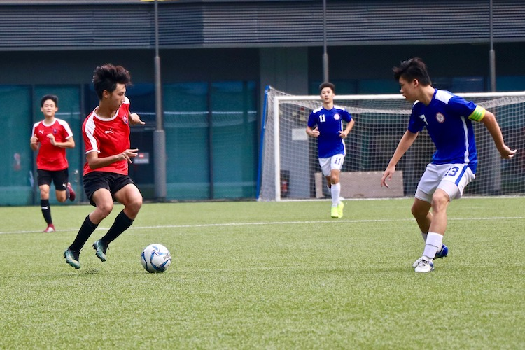 NYJC claimed third place in 5-2 win over TMJC in the A Division Football 3rd Playoff. (Photo 8 © Jessica Soo/Red Sports)