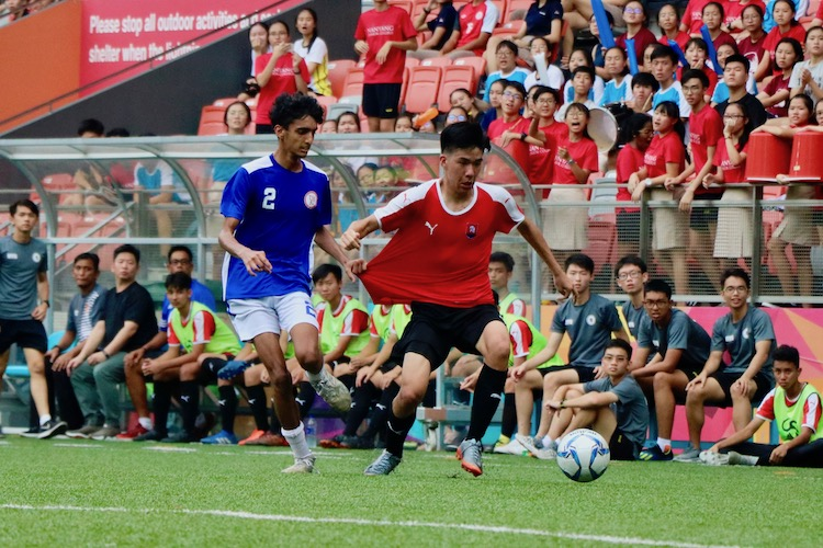 NYJC claimed third place in 5-2 win over TMJC in the A Division Football 3rd Playoff.(Photo 6 © Julianna Jothi/Red Sports)