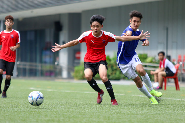 NYJC secure bronze in convincing 5-2 win over TMJC in the National A Division Football 3rd Playoff. (Photo 10 © Clara Lau/REDintern)