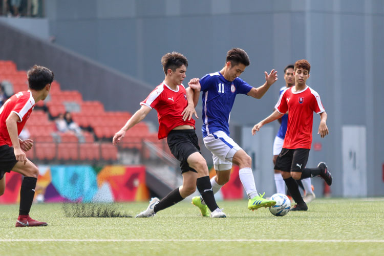 NYJC secure bronze in convincing 5-2 win over TMJC in the National A Division Football 3rd Playoff. (Photo 11 © Clara Lau/REDintern)