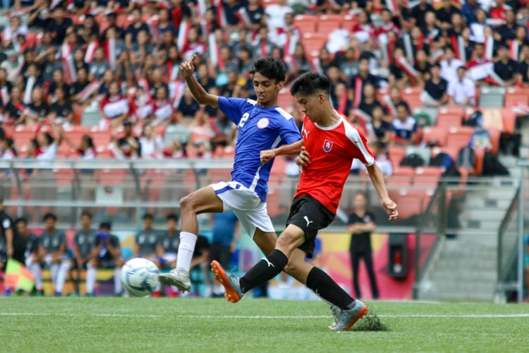 NYJC secure bronze in convincing 5-2 win over TMJC in the National A Division Football 3rd Playoff. (Photo 12 © Clara Lau/REDintern)