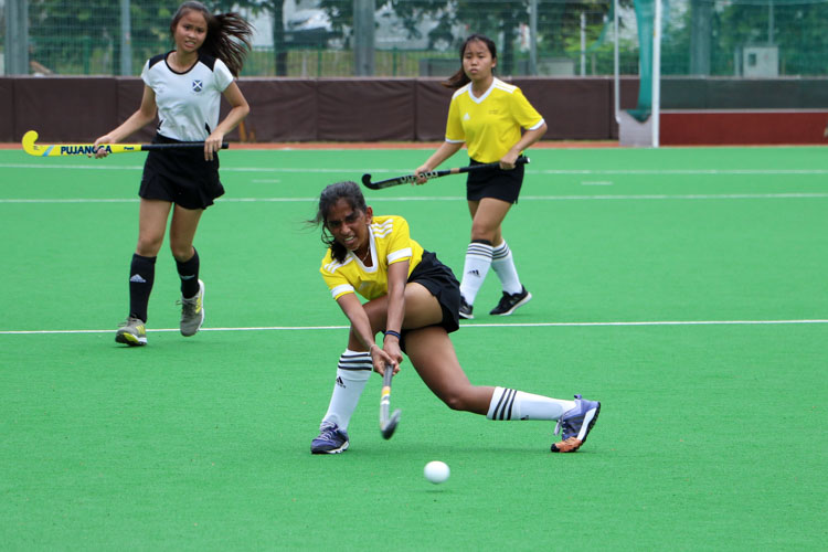 VJC secure place in 17th consecutive National Schools A Division Girls' Hockey Finals after 2-0 win over SAJC. (Photo 6 © Clara Lau/REDintern)