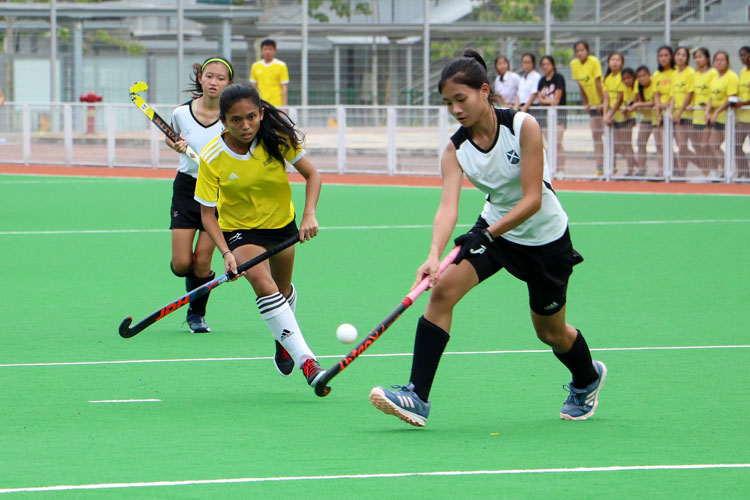 VJC secure place in 17th consecutive National Schools A Division Girls' Hockey Finals after 2-0 win over SAJC. (Photo 7 © Clara Lau/REDintern)
