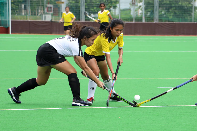 VJC secure place in 17th consecutive National Schools A Division Girls' Hockey Finals after 2-0 win over SAJC. (Photo 8 © Clara Lau/REDintern)