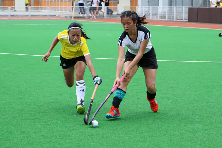 VJC secure place in 17th consecutive National Schools A Division Girls' Hockey Finals after 2-0 win over SAJC. (Photo 9 © Clara Lau/REDintern)