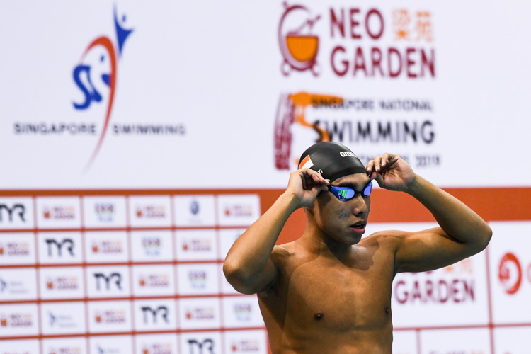 Ong Jung Yi clinched silver in the Men's 100m Butterfly event with a time of 53.83s at the 15th SNSC 2019 competitions.
