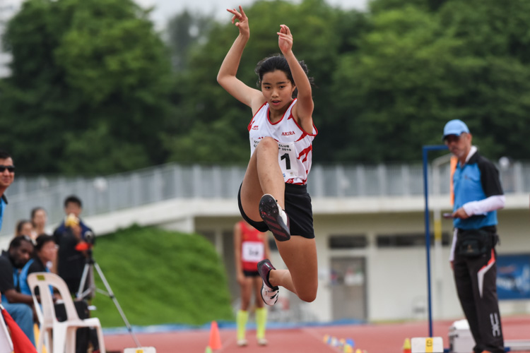 Ann Lee of Swift claimed bronze in the Women's Triple Jump with a leap of 11.44m. (Photo 1 © Iman Hashim/Red Sports)