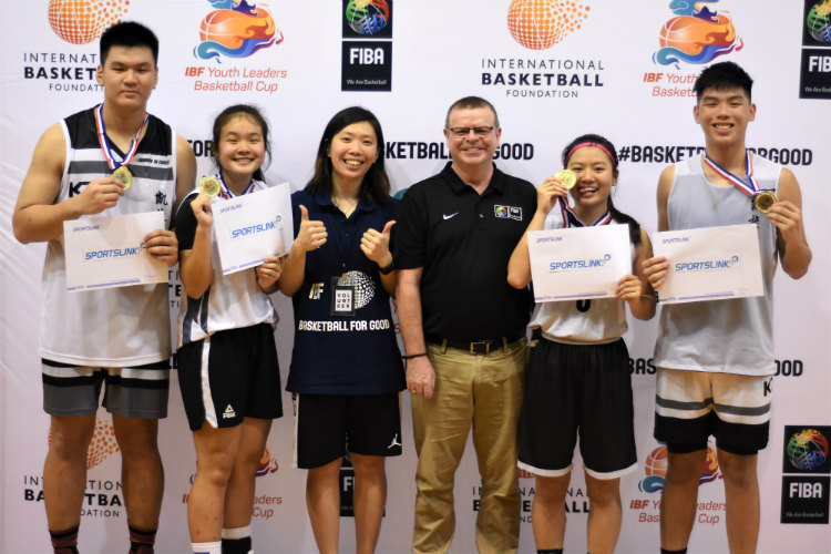 youth leaders basketball cup international foundation federation