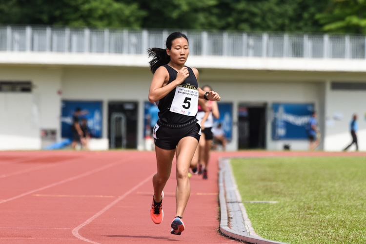 Tan Hui Xin of Club Zoom placed fourth in the Women's 800m with a time of 2:38.21. (Photo 1 © Iman Hashim/Red Sports)