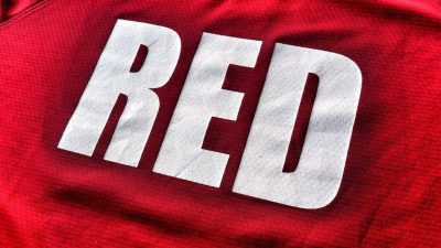 Red Sports Banner
