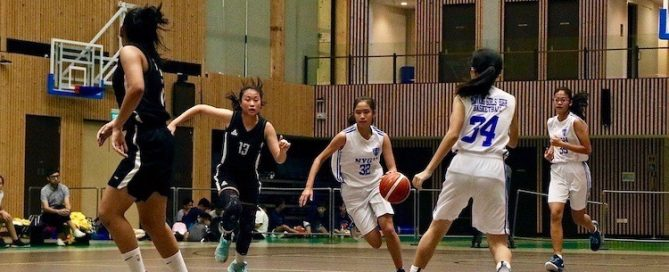 Nanyang Girls' High School emerge victorious over Singapore Chinese Girls' school with a score of 48–31 in the finals of the National C Division Basketball Championship.