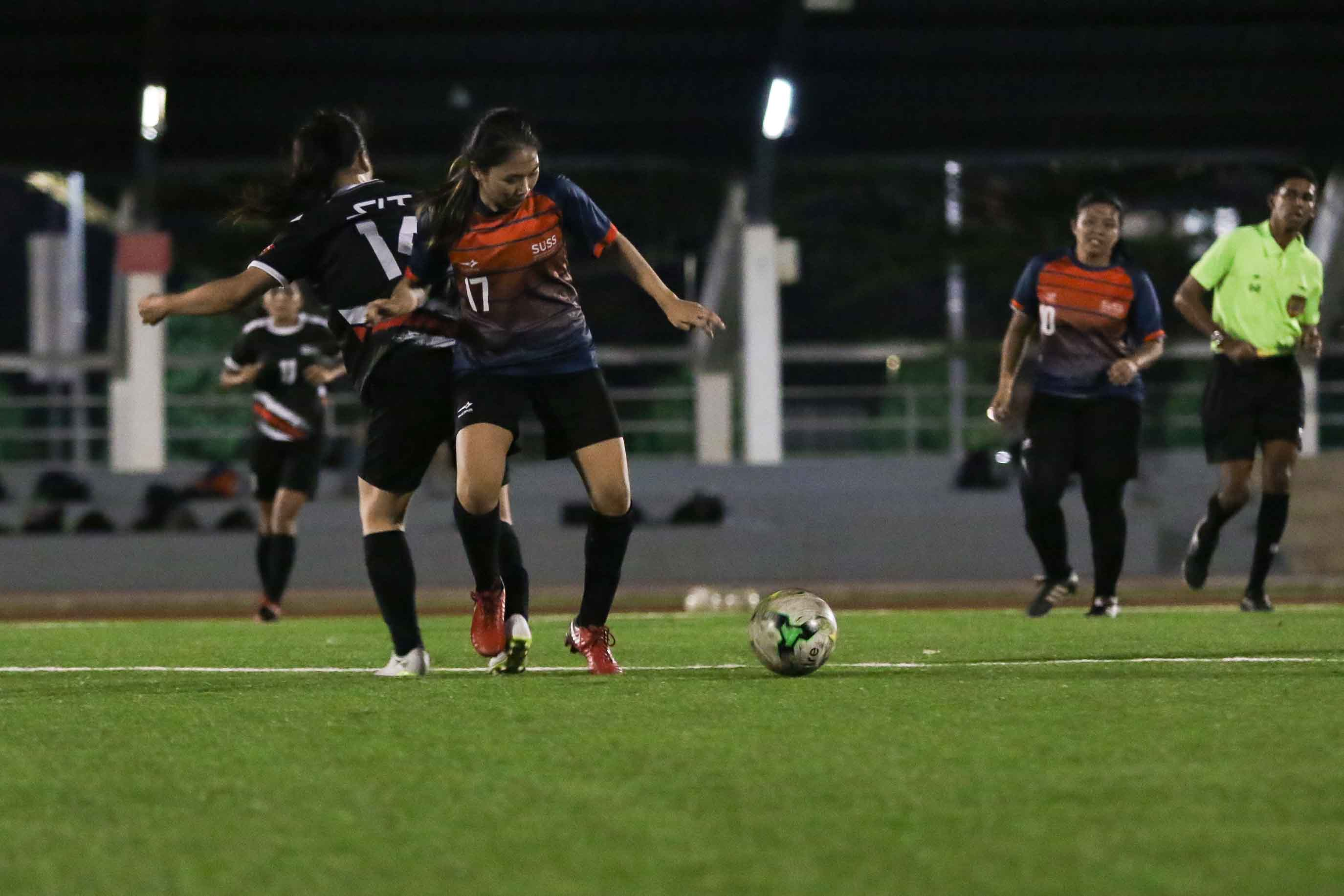 SUSS edge SIT 4-3 in Singapore University Games Women's Football Championship. (Photo 12 © Clara Lau/Red Sports)