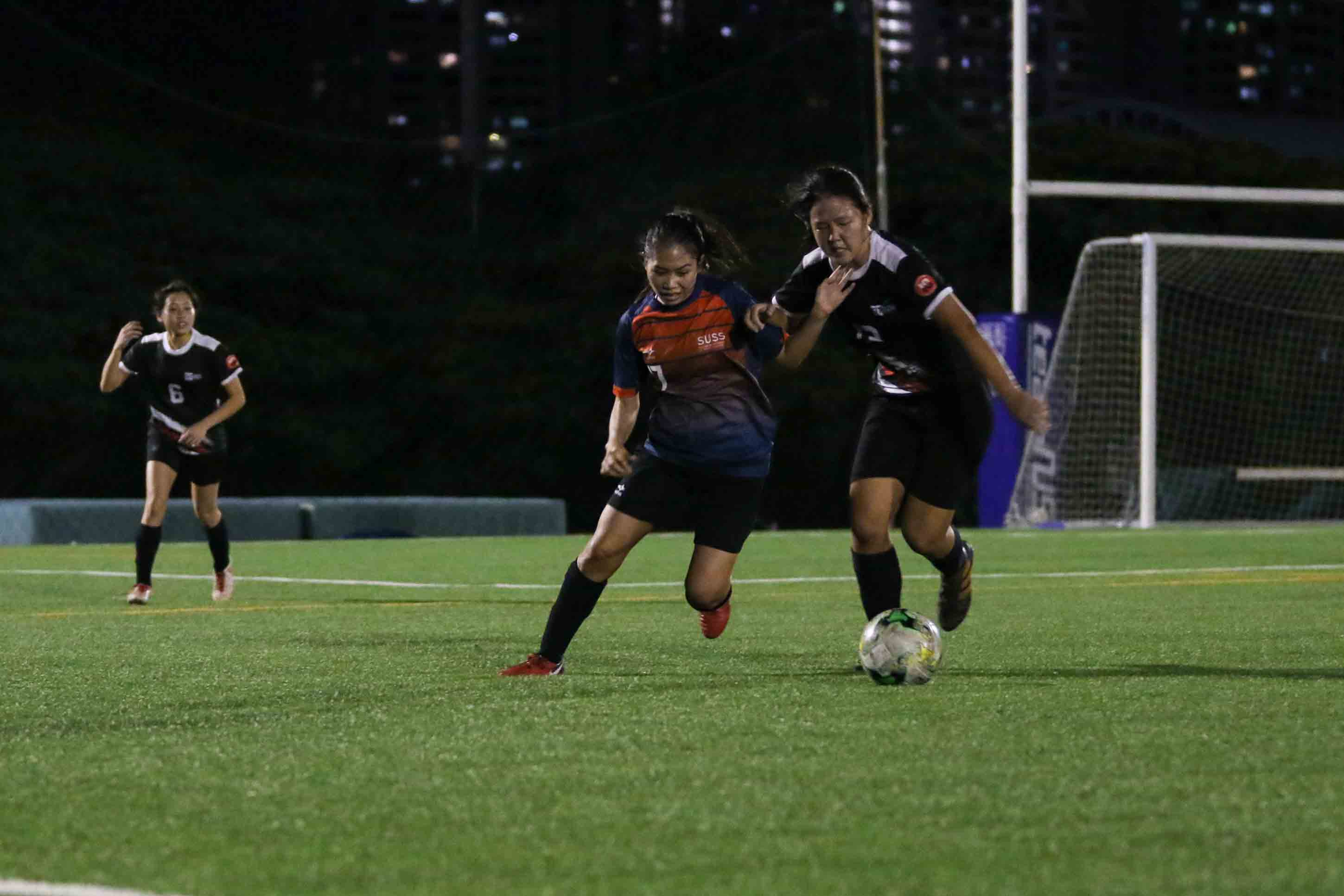 SUSS edge SIT 4-3 in Singapore University Games Women's Football Championship. (Photo 10 © Clara Lau/Red Sports)
