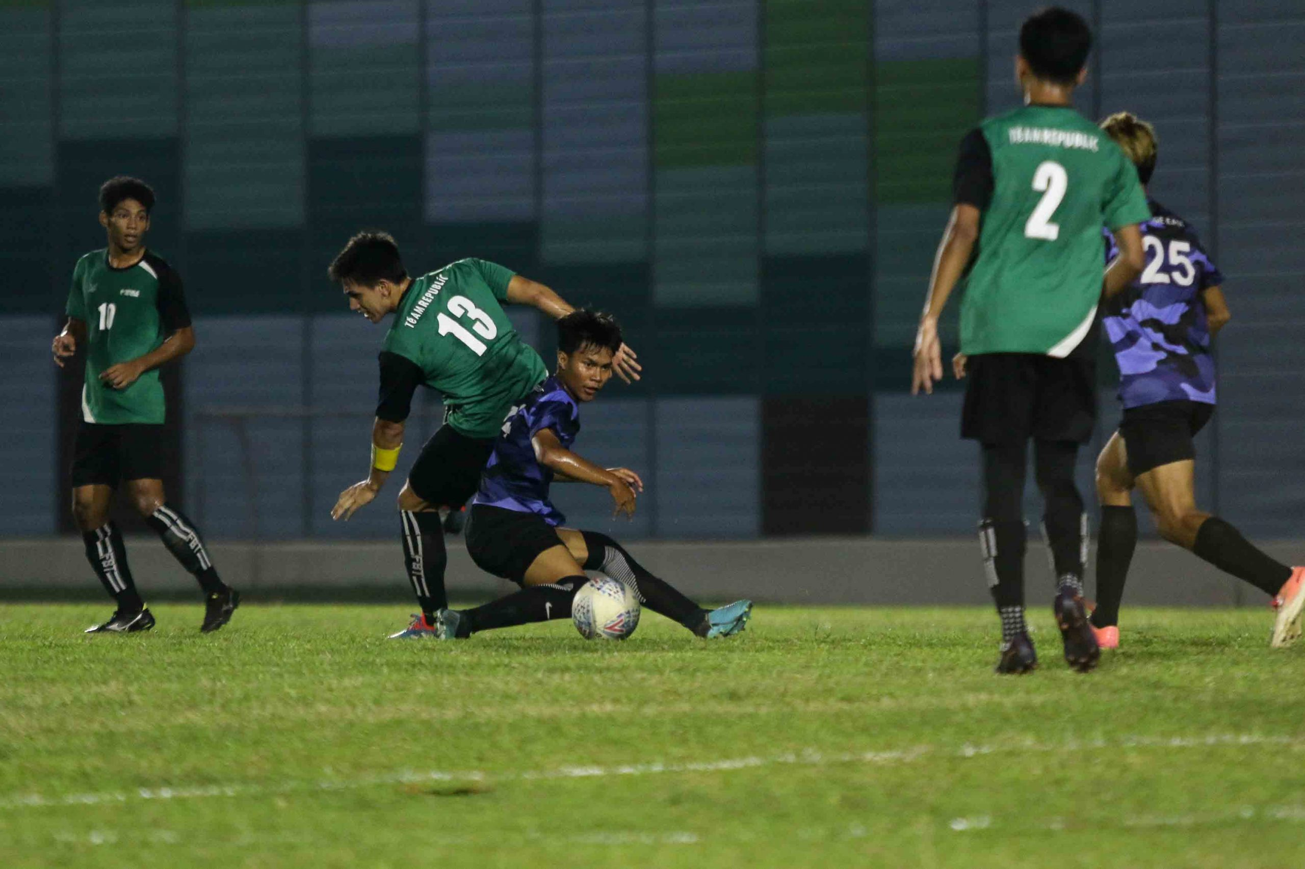 ITE earns hard fought 2-0 win over RP in POL-ITE fixture. (Photo 12 © Clara Lau/Red Sports)