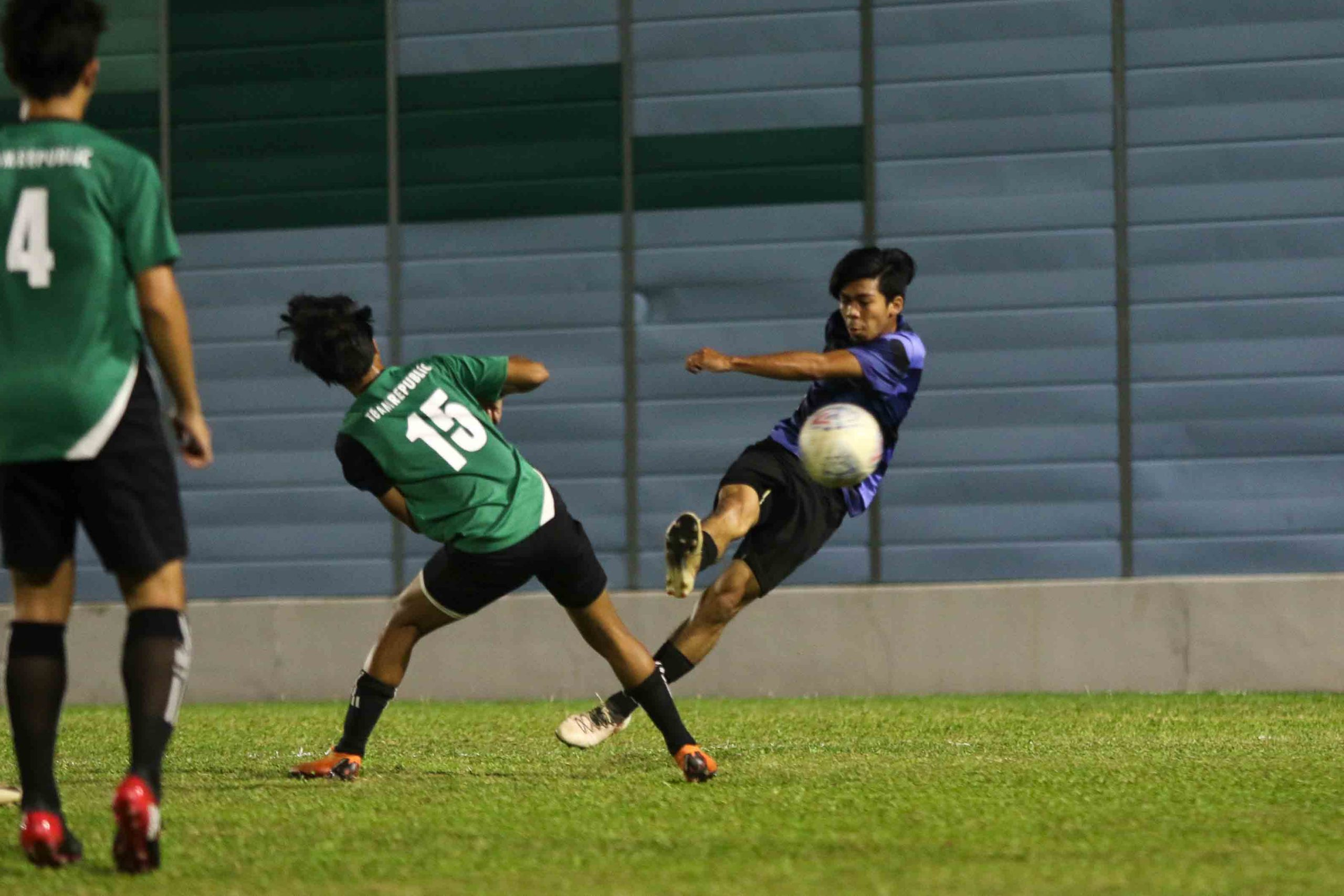 ITE earns hard fought 2-0 win over RP in POL-ITE fixture. (Photo 8 © Clara Lau/Red Sports)