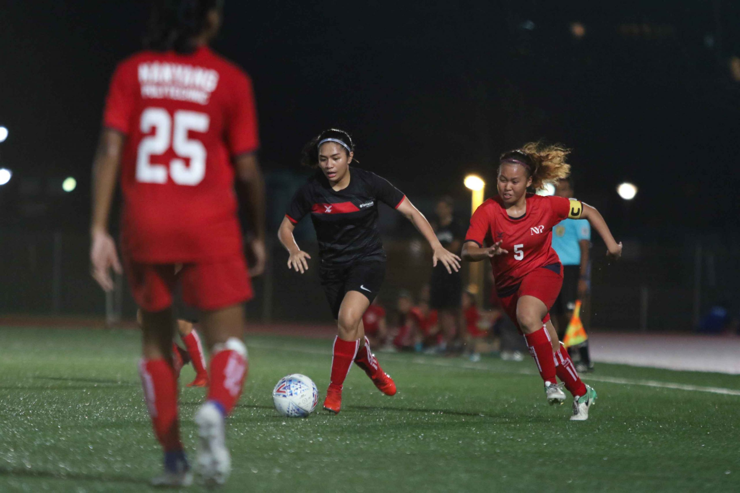 TP and NYP battle out 1-1 draw in their final POLITE fixture. (Photo 10 © Clara Lau/Red Sports)