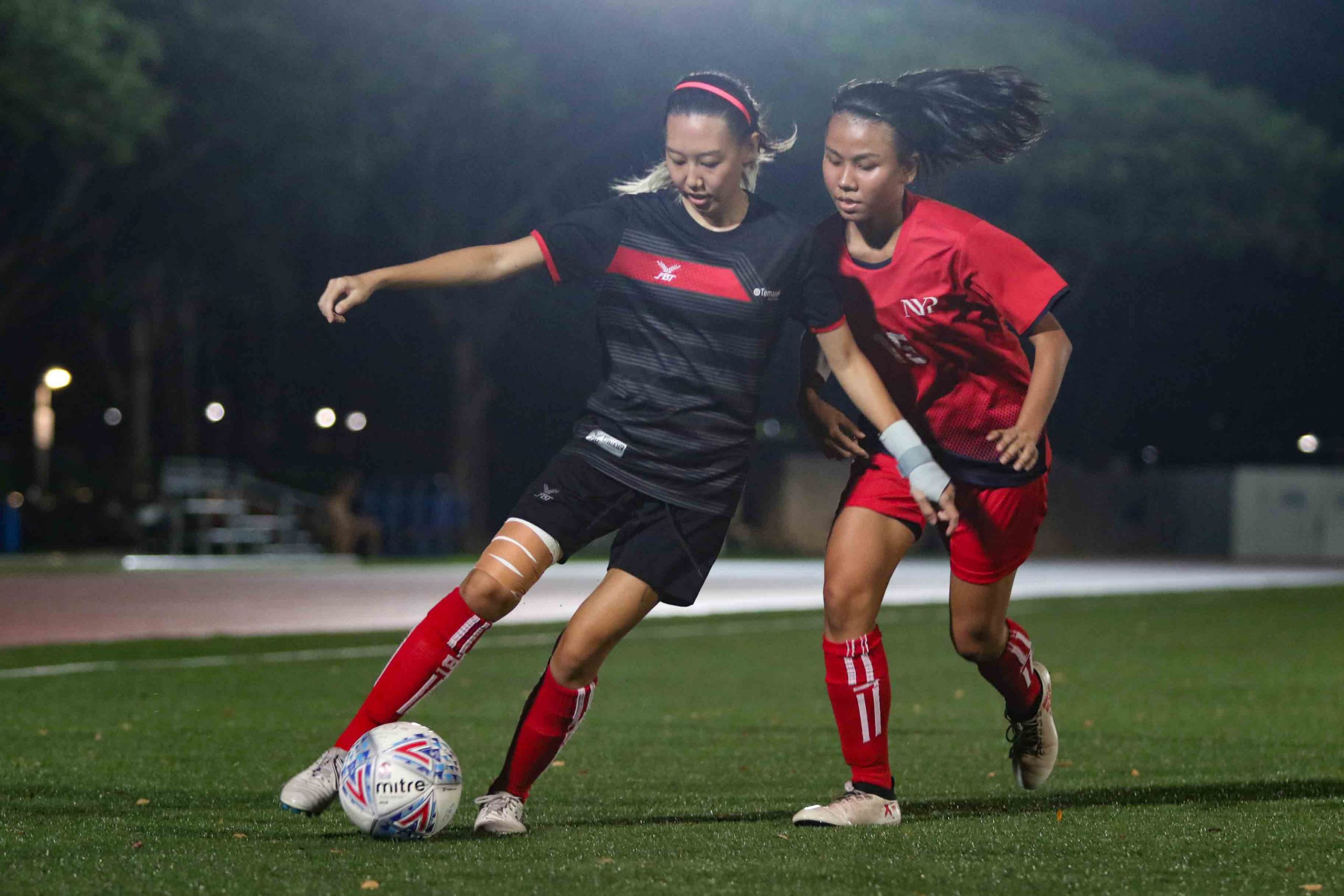 TP and NYP battle out 1-1 draw in their final POLITE fixture. (Photo 8 © Clara Lau/Red Sports)