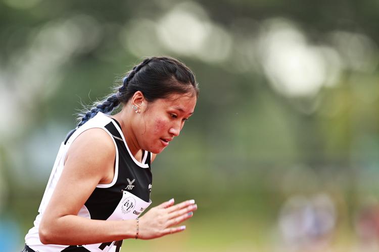 IVP Women's 200m final