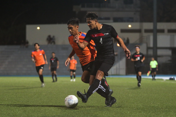 TP edge out NUS 2-1 to claim IVP Football championship. (Photo 17 © Clara Lau/Red Sports)
