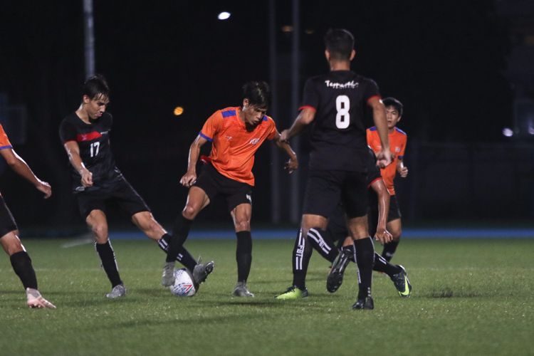 TP edge out NUS 2-1 to claim IVP Football championship. (Photo 20 © Clara Lau/Red Sports)