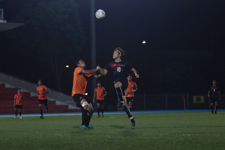 TP edge out NUS 2-1 to claim IVP Football championship. (Photo 22 © Clara Lau/Red Sports)