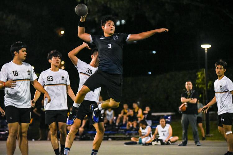 Zane Tan (KR #3) takes aim. (Photo 1 © Iman Hashim/Red Sports)